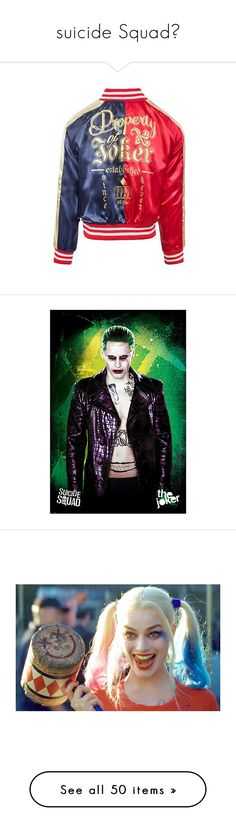 """""""suicide Squad💀"""" by gamergirl247 ❤ liked on Polyvore featuring home, home decor, wall art, pictures, actor, comic, movie, movie posters, cartoon posters and wine home decor"""