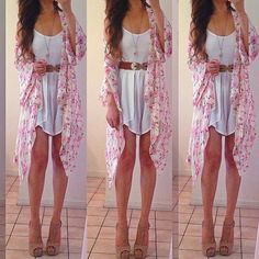 Lovely summer outfit, gorgeous! find more women fashion ideas on www.misspool.com