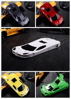 3D Sport Racing Car Style Mobile Case Cover for Apple iPhone 4 5 5S SE 6 6S Hard Plastic Sports Car Phone Case for iPhone 5S