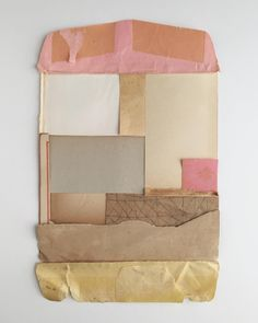 Suzanna_Scott - Scrap pile arranged. #noglue #collage #papercollage #paper #analogcollage #pink #scraps #scrappile #paperscraps #contemporaryart #contemporarycollage #abstract #abstractart