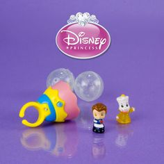 Squinkies Disney Princess Belle Light Up Ring (h)