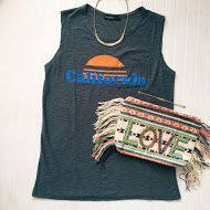 California dreaming looks good in a Michelle by Commune tank