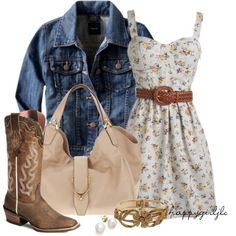 Love Everything! Rodeo outfit?!  Cute for the rodeo party in a few weeks...