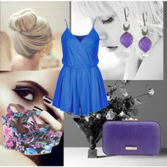 """""""Untitled #31"""" by anasimoes99 on Polyvore #IceCarats http://www.icecarats.com/Sterling-Silver-Pink-White-CrystalJadeMother-of-Pearl-Dangle-Earrings-270145.aspx"""