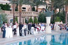 Venetian Poolside Reception Venetian, Dolores Park, Reception, Mansions, House Styles, Gallery, Travel, Home Decor, Viajes