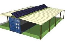 Billedresultat for 40' shipping container workshop