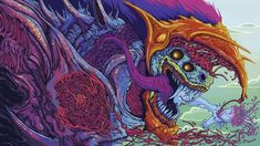 Hyper Beast (5000x2813) (Anyone know of more wallpapers like this?)