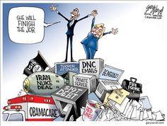 #CrookedHillary 4 more years of #Obama