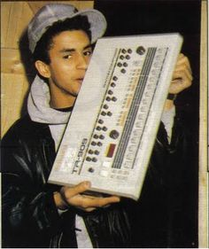 Mantronik and his Roland TR909 (1986)