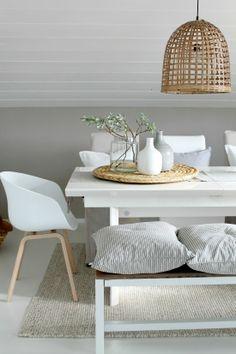déco white et wood #blanc