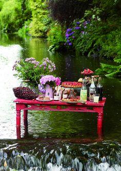 picnic in the river....