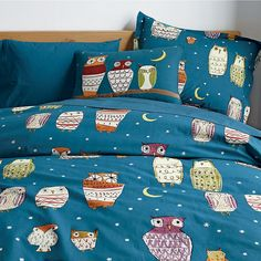 Starry Night Percale Sheets & Bedding Set | The Company Store