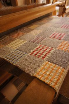 I'm thinking I could reproduce historical samples from the old textile sampler books and make this into a coverlet.