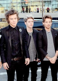 Harry Styles, Nial, Louis at the AMAs