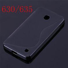 Anti-skidding Gel TPU Slim Matte Soft Case Phone Skin Cover Case Back Cover Skin for Nokia Microsoft Lumia 640 LTE/640XL/535/635
