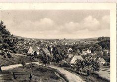 Am alten Berg, heute Südhang 1957