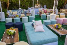 Garden Bat Mitzvah with International Event Company/ Revelry Event Designers