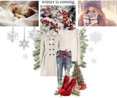 """""""Winter is coming..."""" by thesanja ❤ liked on Polyvore"""
