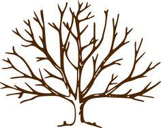 bare tree | Bare Tree clip art - vector clip art online, royalty free & public ...