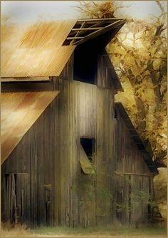 Old Barn by kelly