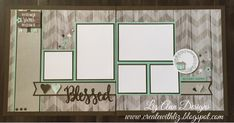 Hello Friends! Some of you have been patiently waiting for my Rustic scrapbook layouts to be posted. I have finally finished them a couple o...