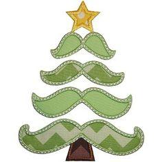 Mustachmas Tree