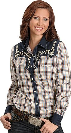This is the kind of Western Shirt I want to sew.