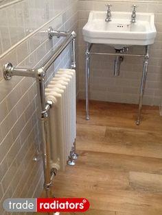 Vanessa Copsey's Wessex Towel Rail from Trade Radiators
