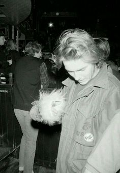 River Phoenix While young