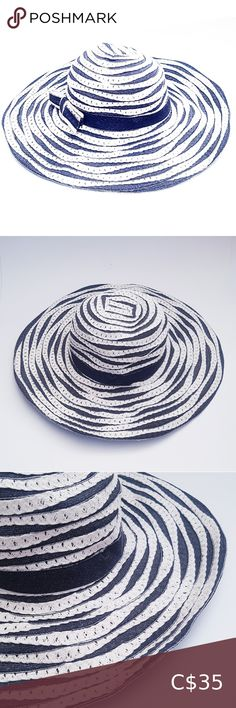 Hat Shop, Sun Hats, Grosgrain, Black And White, Check, Fabric, Pattern, Cotton, Closet