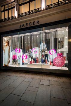 Jaeger Window Display   Spring Summer, 2013 by Millington Associates