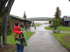 The Every Tower: Onya Baby: baby carrier product review (and holiday in northern Sweden)