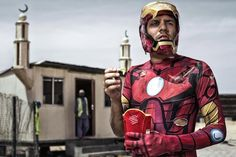 Gritty, Humorous Photo Series Celebrates the Superhero in All of Us
