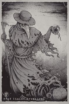 The Plague by Eugen Poe, via Behance
