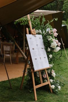 Florals, Tipis and Afternoon Tea: Emma & John's Mount Stewart Wedding Outdoor Wedding Reception, Outdoor Weddings, Wedding Signage, Real Weddings, Wedding Ceremony, Santa Outfit, Champagne Bottles, Engagement Couple, Afternoon Tea