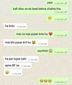Indian WhatsApp Chats That Are Really Stupid Yet Hilariously Funny - ScoopNow Funny School Jokes, Some Funny Jokes, Crazy Funny Memes, Bf Jokes, Funny Picture Jokes, Funny Pix, Videos Funny, Hilarious, Funny Posts