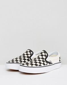 ed305fde852d8 image.AlternateText Vans Checkerboard Slip On, Slip On Trainers, Slip On  Sneakers,