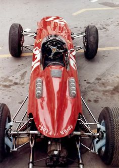 jacqalan:  John Surtees´ Ferrari 158 , Monaco 1964 .