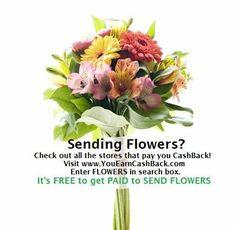 Get Cashback for sending #Mom #Flowers. It's FREE www.allinmycart.com SEARCH: FLOWERS