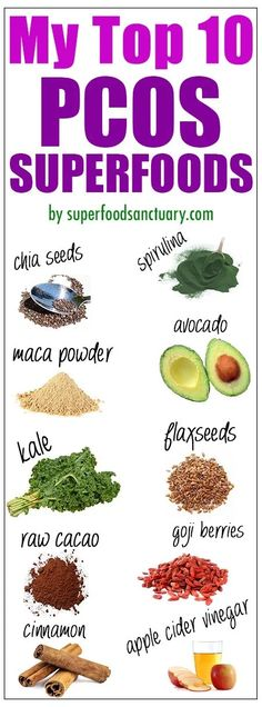 My Top 10 Best Superfoods for PCOS - Superfood Sanctuary - Heal through Food Nutrition Drinks, Diet Drinks, Diet And Nutrition, Nutrition Guide, Health Diet, Apple Cider, Healthy Foods To Eat, Healthy Eating, Healthy Protein