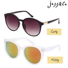 BOM DIA de Jazz & Co.   modelos Carly e Kitty   Qual o seu estilo?  Adquira agora: (62)8223-6752 (whatsapp) #soujazz #sunglasses #eyewear #lojajazz #shades #style
