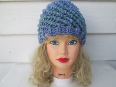 Hand Knit crochet hats knit hats crochet beanie by Ritaknitsall