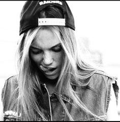 #cap #blondie