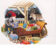Inge Löök - Getting ready for Christmas.
