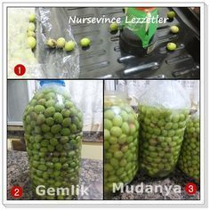 Green Olives Flavoring And Institution How To … – Holiday and camping ideas Turkish Kitchen, Little Gardens, Most Delicious Recipe, Cooking Recipes, Healthy Recipes, Turkish Recipes, Bon Appetit, Food Hacks, I Foods