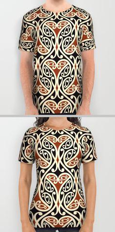 Maori Kowhaiwhai T's - $34.99