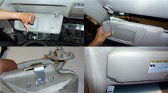 http://strictlyforeign.biz/ DIY Camry Sun Visor Repair