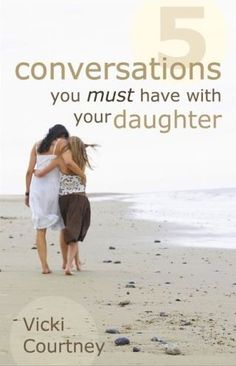 5 Conversations You Must Have with Your Daughter, youth culture expert Vicki Courtney gives moms straight talk about keeping the lines of communication open and honest with their daughters from cradle to college.  Pin now and read later.