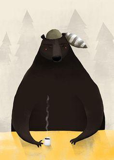 """""""Bear"""" by Anna Rudak"""