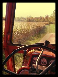 Yeah, but a green John Deere tractor. Mason jar filled with ice and tea. AM radio blaring. Farm kids know what that means. Country Girls, Country Living, Country Roads, Country Charm, Country Style, Vie Simple, Everything Country, Farm Kids, Country Scenes